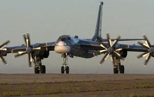 banner TU-95 Bear