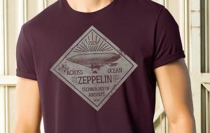 banner zeppelin