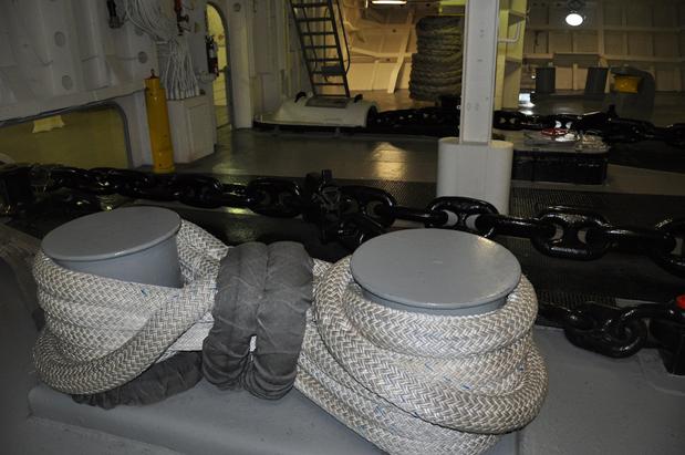 instalações navio museu no porta-aviões