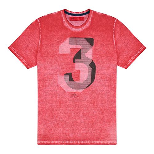 T-Shirt Estonada Salmão