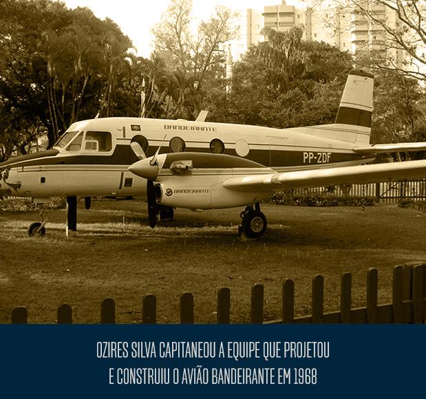 Avião Badeirante - Ozires da Silva
