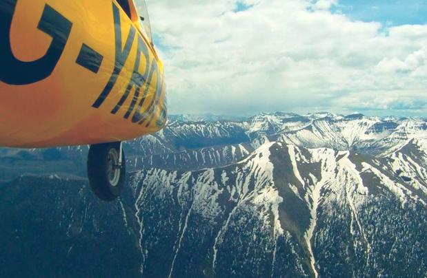 Norman Surplus - O Girocóptero a 3.200 metros sob o Parque Yellowstone