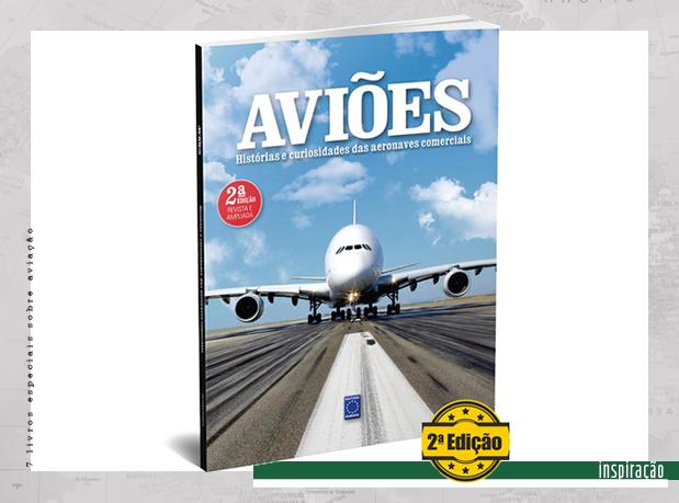 Capa de livro com foto de avião pousando na pista